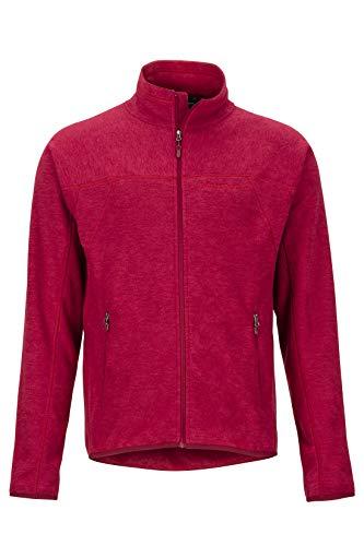 Marmot Herren Pisgah Fleece Jacket, Fleecejacke, Outdoorjacke, atmungsaktiv, Brick, M