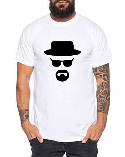 Heisenberg Camiseta de Hombre Hermanos Bad Mr White Breaking,...