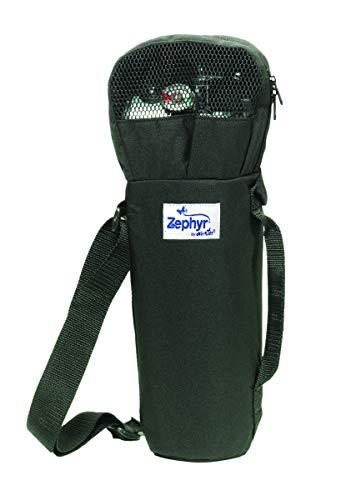 Roscoe Medical Portable Oxygen Tank Shoulder Bag for M6 Cylinders - Convenient Shoulder Bag Style Medical Oxygen Cylinder Holder with Mesh Ventilation
