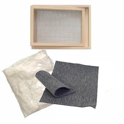 CREATIV DISCOUNT Papierschöpfen Einsteiger Set DIN A5