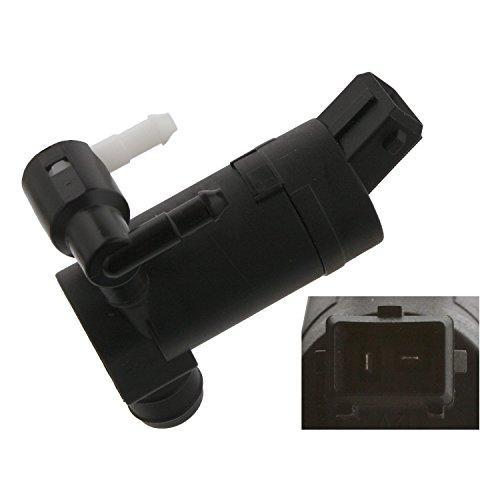 febi bilstein 34865 Waschwasserpumpe für Scheibenreinigungsanlage, mit Dichtring , 1 Stück