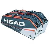 Head Core 6R Combi, Borsa per Racchetta Unisex Adulto, Grigio/Arancia