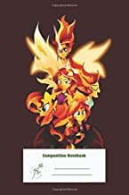 Composition Notebook: Sunset Shimmer for writing , Sketching , Journal