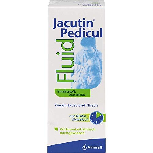 Jacutin Pedicul Fluid mit Nissenkamm gegen Läuse und Nissen, 200 ml Lösung