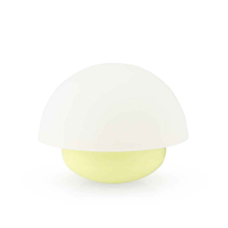 E-Plaza Mini LED Night Light Mushroom Tumbler Bedside Colour Changing Mood Lamp for Baby's Room, Living Room, Restaurant (Yellow)