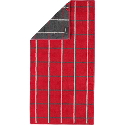 Cawö Home Handtücher Noblesse Square 1079 rot - 27 Handtuch 50x100 cm