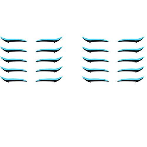 mzDkc0d 10 Paar Damen Schlupflid Tapes Augenlidaufkleber Instant Outline Winged Lid Schlupflider Tapes Eyelid Tape Einfache Anwendung Eyelid Stickers Augenlidaufkleber Make-up Eyelid Stickers