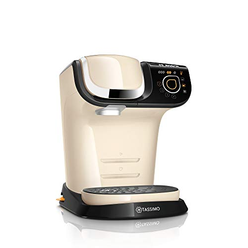 Bosch Tassimo My Way capsulemachine Met BRITA waterfilter crème