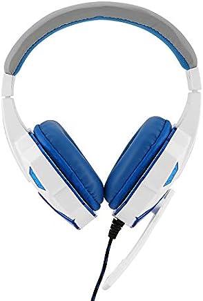 BFHCVDF Auriculares para juegos SY830MV con Luces LED para auriculares Mic-Sound para PS4 / Xbox-One Blanco y Rojo - Trova i prezzi più bassi