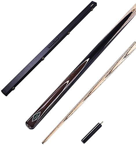 YAOJIA Pool-Billardqueues Esche Holz Billard Pool Cue Mit 10mm Cue Tipps  57 Zoll 17-19 Unz Pool Billard Cue Kit for Schulfamilie Billard Queue (Color : A, Size : Pole Box 2)