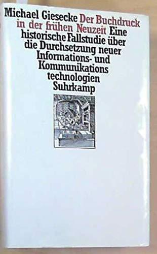 Der Buchdruck in der frühen Neuzeit