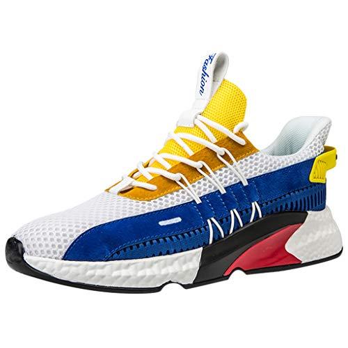 YWLINK Zapatos Hombres,De Deporte Transpirables Tejidos La...