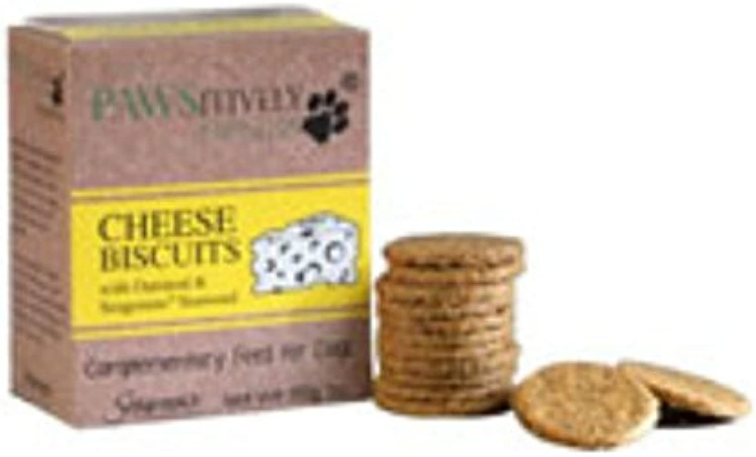 Pawsitively Natural Dog Biscuits Cheese 150g