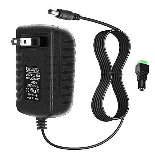 ALITOVE 5V 3A 15W AC 100V~240V to DC Power Supply Adapter Converter 5.5X 2.5mm 5.5x2.1mm Plug for WS2812B WS2811 WS2801 SK6812 LED Pixel Strip Light CCTV Camera Security System