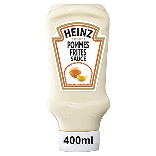 Heinz Pommes Frites Sauce, Kopfsteherflasche, 10er Pack (10 x 400 ml)