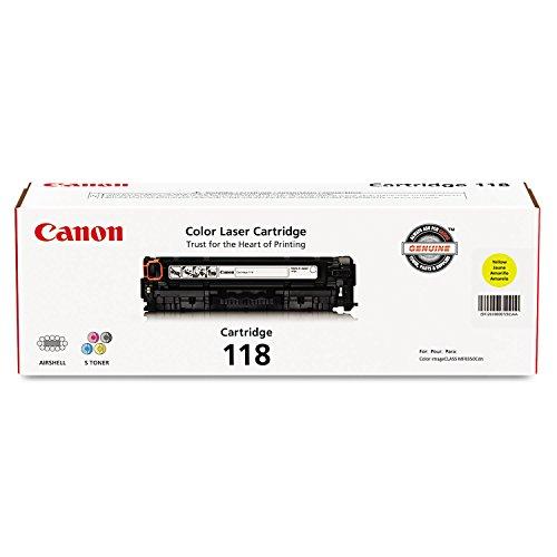 Canon Original 118 Toner Cartridge - Yellow