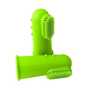 Coque en silicone doigt Brosse à dents Hygiène Dentaire Brosse pour de petite et grande taille pour chien et chat–Hearbeauty