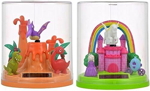 Con precio barato para obtener la mejor marca. Solar-Powerojo Flying Unicorn and Dinosaur Fantasy Fantasy Fantasy Duo by Eclectic negrobird  distribución global