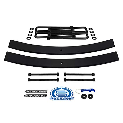Supreme Suspensions - Rear Leveling Kit for 1995-2019 Toyota Tacoma 1.5