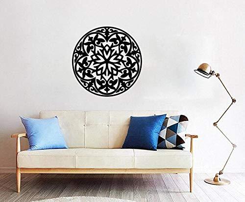 Citas positivas islámicas sala de estar símbolos árabes musulmanes pegatinas de pared pegatinas de vinilo para el hogar