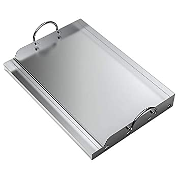 only fire Universal Stainless Steel Rectangular Griddle for Gas BBQ Grills 23  x 16