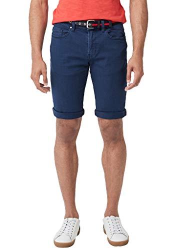 s.Oliver Herren 28.906.72.2330 Shorts, Blau (Blue Denim Stretch 56z4), 54 (Herstellergröße: 36)