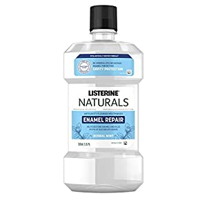 Listerine Naturals Enamel Repair Mouthwash with Mineral Sodium Fluoride