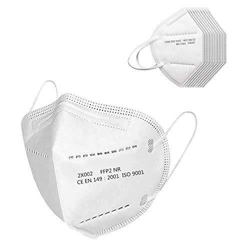 200 Stück Erwachsene_5 Lagige Schutz_𝙁𝙁𝙋𝟮_CE-Zertifizierung_Maske_𝙆𝙉𝟵𝟱 | Schnelle Lieferung (200 Stück)