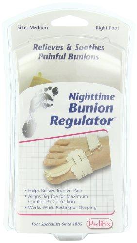 PediFix Nighttime Bunion Regulator, Right Foot, Medium