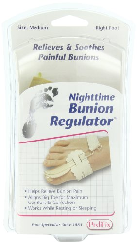 PediFix Nighttime Bunion Regulator,  Right Foot, Medium
