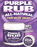Purple Emu Purple Rub All Natural Pain Relief Cream O.T.C. With Emu Oil .25 oz. Trial Size