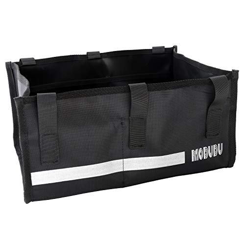 Under Seat Rollator Bag or Tote for Four Wheel Rollator or Walker Bag Wheel Rollator Bag Tote Organizer Pouch Storage for Wheel Rollator or Walker (Black)