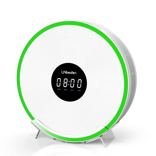 Purificador Aire Hogar con Filtro HEPA, Elimina 99,97% de Partículas Polen Caspa de Mascota, Visualización de Calidad de Aire, Apto para 55㎡ de Dormitorio y Habitación