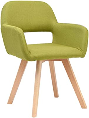 Amazon.com: AJZGFDining Chair, Kitchen Chair Solid Wood ...