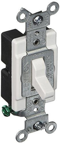 Lighted Quiet Single Pole Switch - Leviton