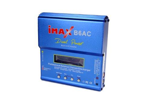 Amewi 28044 Multifunktionsladegerät B6AC 50W, 1-6S LiPo, 1-15S NiMH