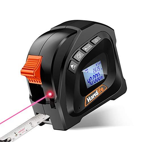 High-precision laser tape measure