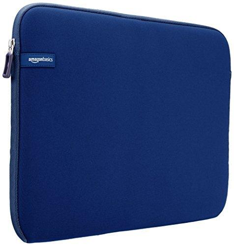 AmazonBasics Laptop-Schutzhülle, für eine Displaydiagonale von 15 - 15,6Zoll, Marineblau