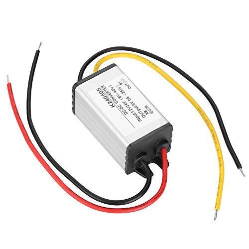 Wasserdichter Gleichstromwandler Langlebiger 12-V-Stromrichter, Wandler, Wandler Einstellbares Leistungsmodul für Lüftermotor Wasserpumpe Auto-LED-Bildschirm
