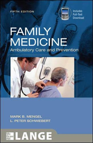 Family Medicine: Ambulatory Care and Prevention, Fifth Edition (LANGE Clinical Medicine)