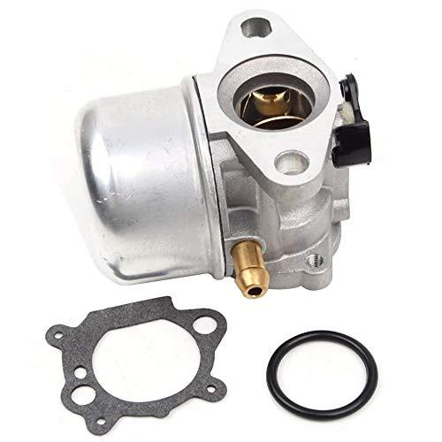 Carburador Carb Reemplazo Desbrozadora Motosierras Gasolina Piezas de Cortacésped para Briggs y Stratton 799868 498170 799872 Repuestos para Cortacésped con Empaquetadura