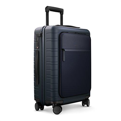 HORIZN STUDIOS M5 Handgepäck (33 L) mit integrierter, herausnehmbarer Powerbank und eingebautem Raumtrenner zur Komprimierung. Für Reisen 2-3 Tage. (Night Blue)