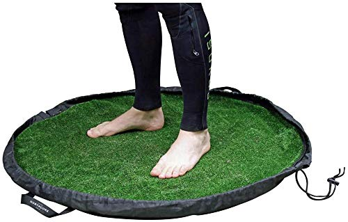 Northcore Grass Wetsuit Change Mat/Bag
