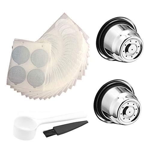 XZANTE Manosear roestvrij staal navulbare koffiecapsule Nespresso herbruikbaar Nespresso koffiezetapparaat espressomachine espressomachine koffiebeker filter