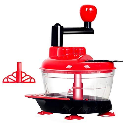 Robot alimentaire multifonction, hachoir à viande hachée et batteur à oeuf, convient pour les petits transformateurs de nourriture pour viande, légumes, fruits, oignons et noix