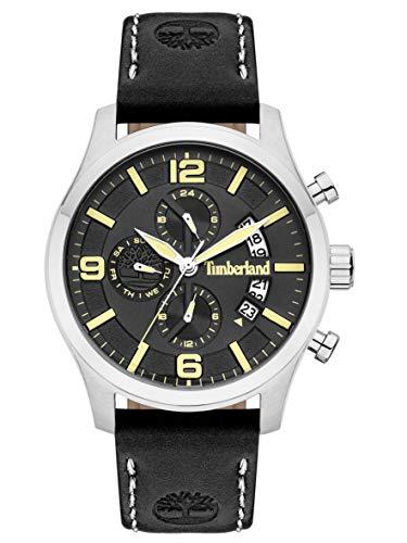 Timberland Reloj Multiesfera para Hombre de Cuarzo con Correa en Cuero TBL15633JS.02