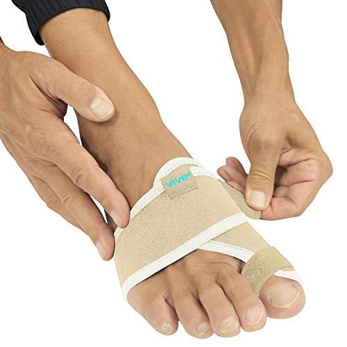 Vive Bunion Brace (Pair) - Big Toe Corrector Straightener with Splint -...