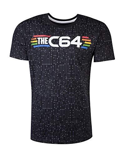 Commodore 64 C64 - Schaltkreise - T-Shirt offizielles Merchandise, Größe:S