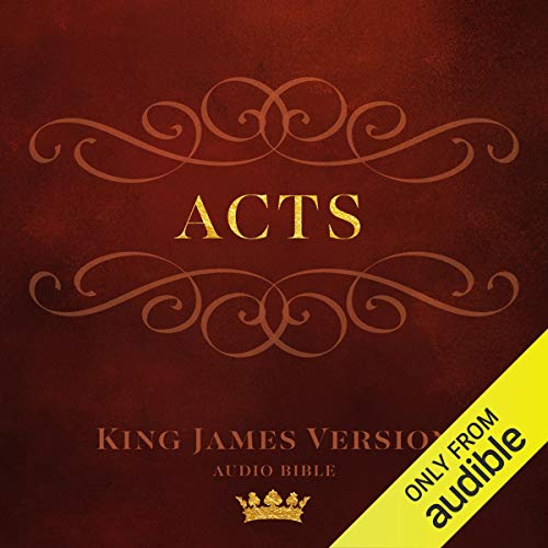 Book of Acts audiobook cover art