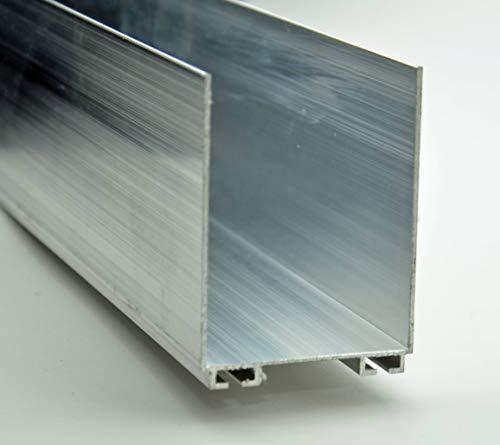 Best Price Garage Door Weather Seal Retainer - U Shaped (2x2) (7-55 Lengths)